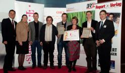 Gruppenfoto der PreisträgerInnen des T-Systems Innovationsawards Wien
